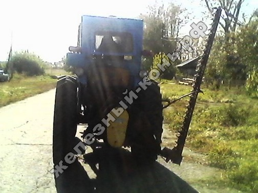самодельный трактор со стогомётом фото