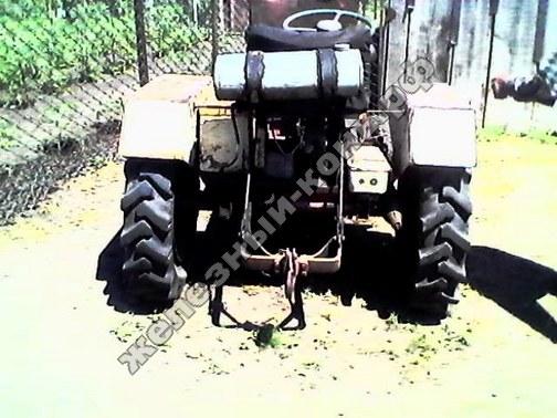 Самодельный минитрактор с двигателем от «инвалидки» фото