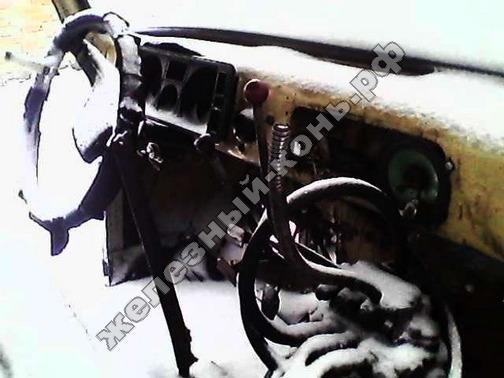 Самодельный трактор с двигателем ВАЗ фото