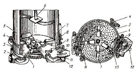 Туковысевающий аппарат дискового типа АТД-2