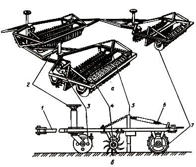 Выравниватель-измельчитель почвы ВИП-5,6