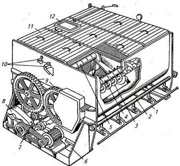 запарник-смеситель кормов С-12А