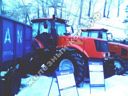 Фото с агровыставки «Алтайская Нива» (г. Барнаул). Трактор Беларус-3022ДВ
