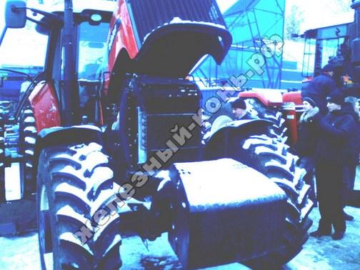 Фото с агровыставки «Алтайская Нива» (г. Барнаул). Трактор Buhler