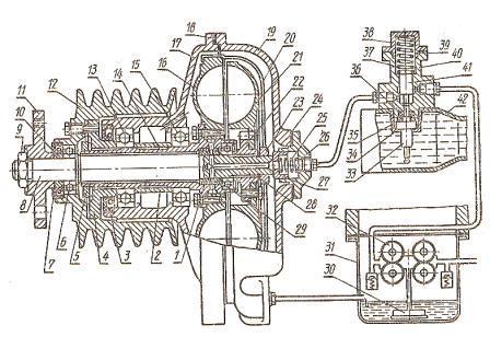 Система охлаждения к 701