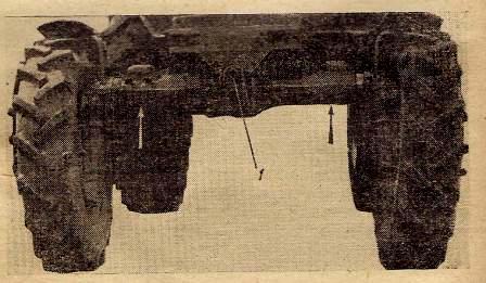 Передний ведущий мост трактора МТЗ-52