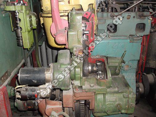 Пусковой двигатель в разрезе фото