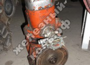Пуск пускового двигателя ПД-10У стартером