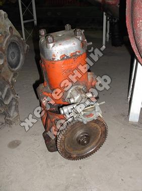 Пусковой двигатель фото (общий вид)