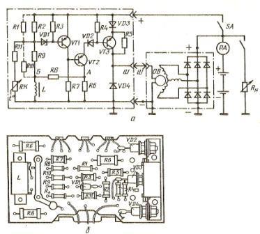 Регулятор напряжения РР350