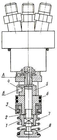 секция высокого давления насосов типа НД-21, НД-22