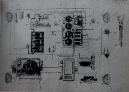 Схема электрооборудования и