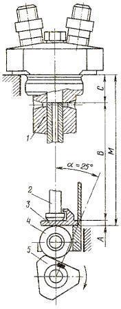 схема механизма привода плунжера насоса типа НД-22