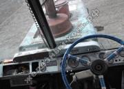 Поворот трактора с индивидуальным приводом гусениц. Второй способ