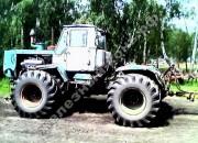 Тяга обратной связи рулевого управления колёсного трактора с шарнирно сочленённой рамой