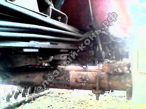 Передняя подвеска двигателя МТЗ | Помощник слесаря