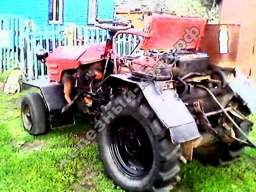 Самодельный трактор с самодельной косилкой фото
