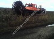 Конструктивные особенности ходовой части болотоходных тракторов
