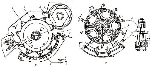 Молотильно-сепарирующие устройства барабанно-дековых комбайнов