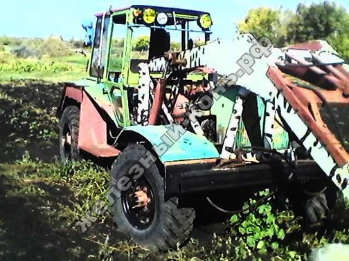 Cамодельные мини-трактора с ломающейся рамой: практические