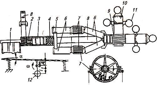 Схема линии доработки лука ЛДЛ-10