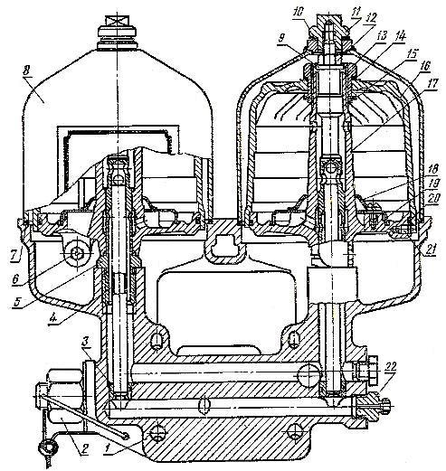 Масляный фильтр двигателя А-41
