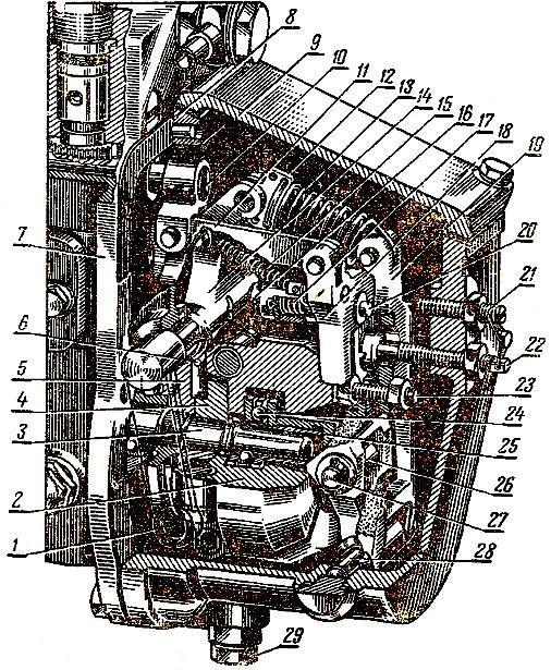 Регулятор топливного насоса (ТНВД) двигателя Д-37М тракторов Т-40 и Т-40А