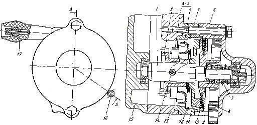 Механизм дублирующего пуска пускового двигателя П-350 трактора Т-150 и Т-150К