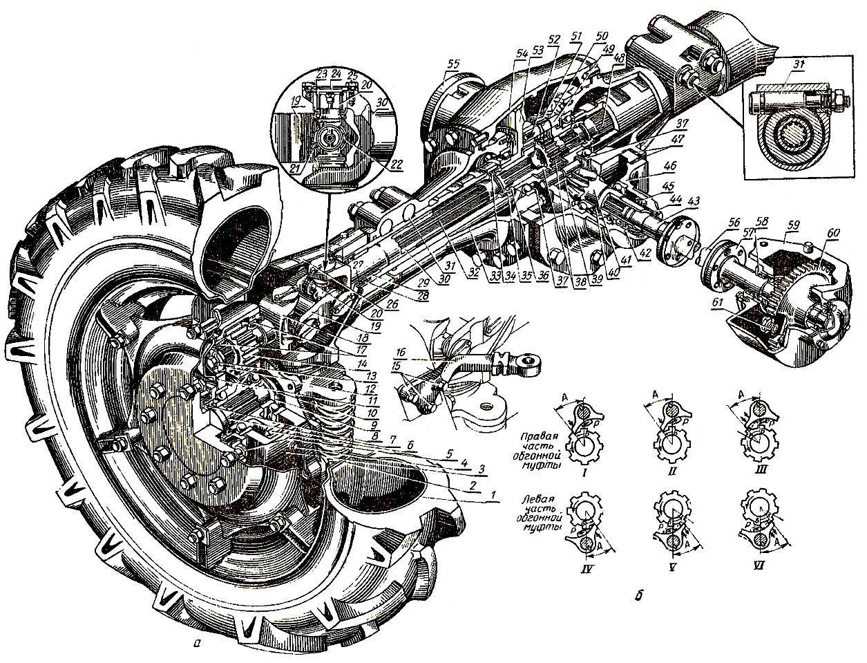 Корпус сцепления МТЗ-80