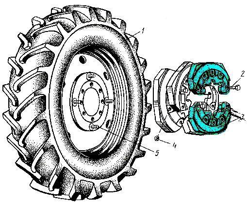 Диск МТЗ задний: купить колесо МТЗ заднее