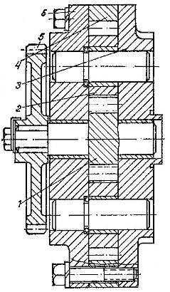 Гидравлический насос НМШ-50 трактора Т-150