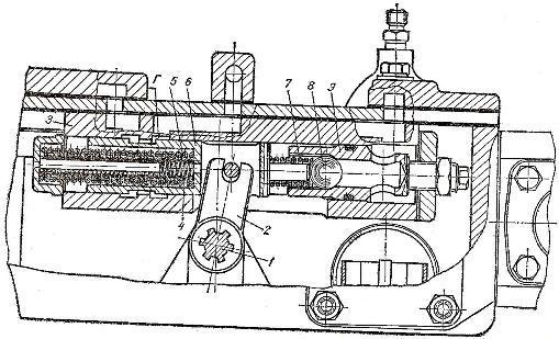 Клапан плавного сброса давления трактора Т-150