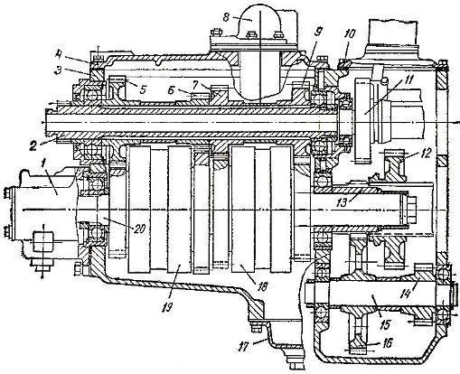 Коробка передач трактора Т-150К