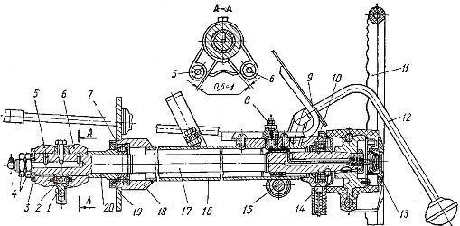 Рулевая колонка трактора Т-150