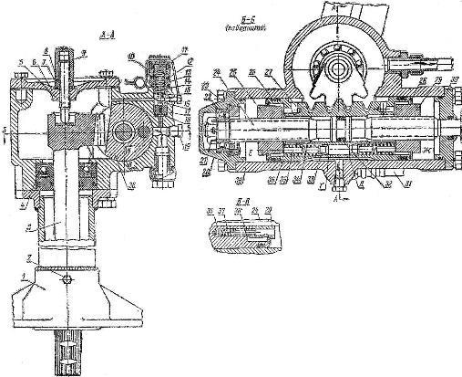 Гидравлический усилитель рулевого механизма трактора Т-40 и Т-40А