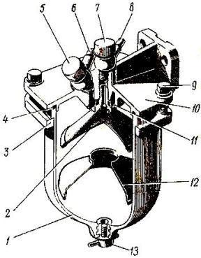 Фильтр грубой очистки топлива ФГ-75