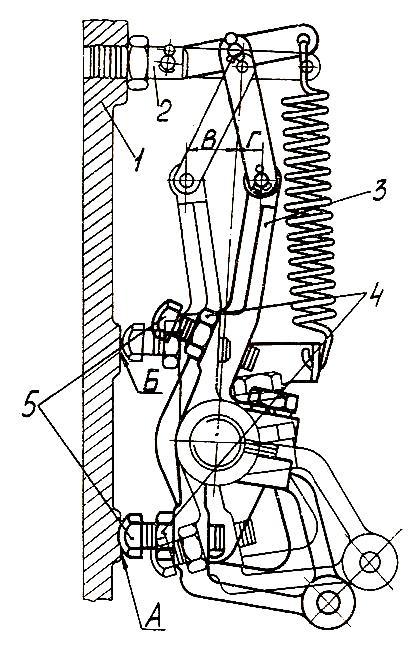 Механизм блокировки гидротрансформатора трактора ДТ-175С «Волгарь»