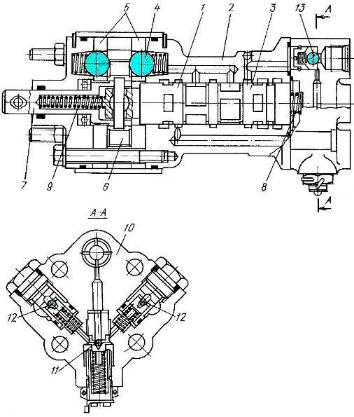Схема электрооборудования трактора МТЗ-100, МТЗ-102.