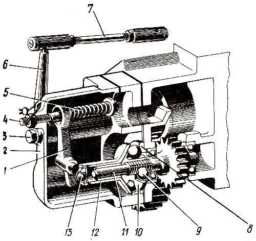 Регулятор пускового двигателя П-350 трактора ДТ-175С «Волгарь»