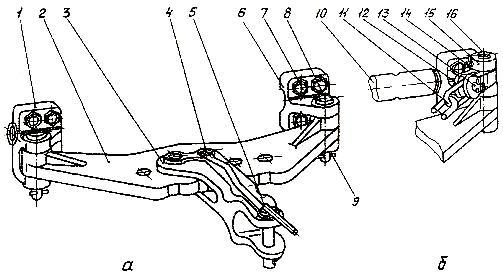 Фотогалерея прицепного устройства к трактору