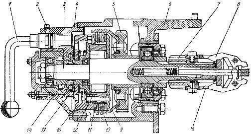 Редуктор пускового двигателя ПД-10У тракторов МТЗ-50, МТЗ-50Л, МТЗ-52, МТЗ-52Л