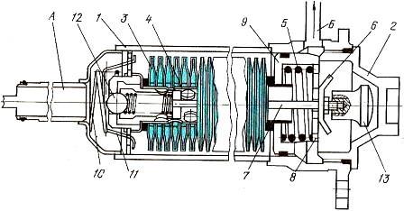 Полнопоточный сетчатый фильтр коробки передач трактора МТЗ-100 и МТЗ-102