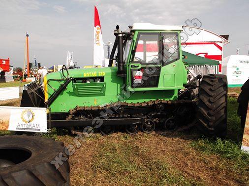 Трактор Алтай-130 завода «Алтайский трактор» | Всероссийский день поля 2016