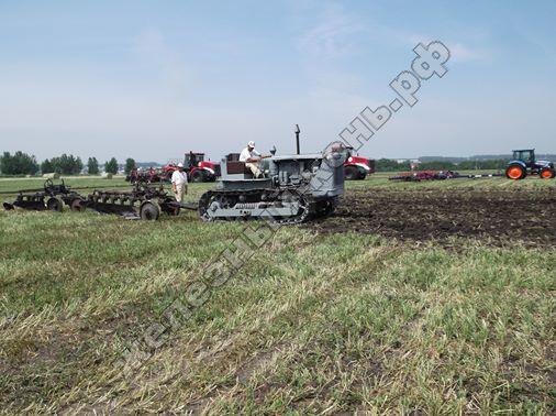 Трактор Сталинец С-100 ЧТЗ | Всероссийский день поля 2016