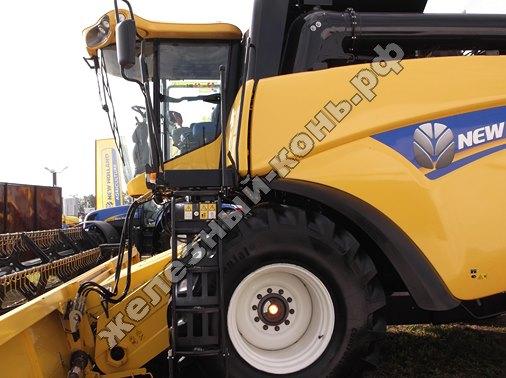 Зерноуборочный комбайн NEW HOLLAND CX 6090