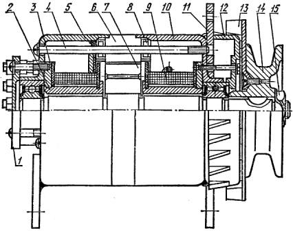 Генератор Г306 трактора ДТ-75