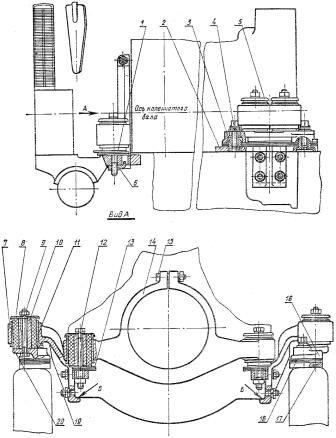 Установка двигателя на трактор ДТ-75