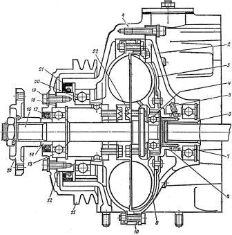 Вентилятор охлаждения двигателя камаз