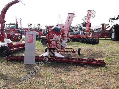 Метатель зерна самопередвижной МЗС-90